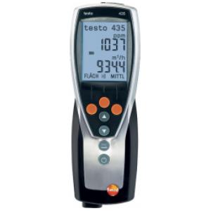 Многофункциональный прибор testo 435-2 с памятью, программным обеспечением и USB