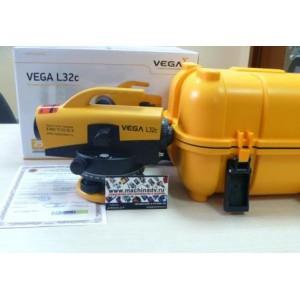 Комплект профессионала  - Оптический нивелир VEGA 32x(Поверен) + штатив + рейка 3м