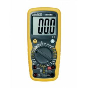 DT-9908 Цифровой мультиметр, высокой точности, с функцией термометра